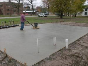 Chapel Hill concrete pads for RV, sheds, AC, basketball